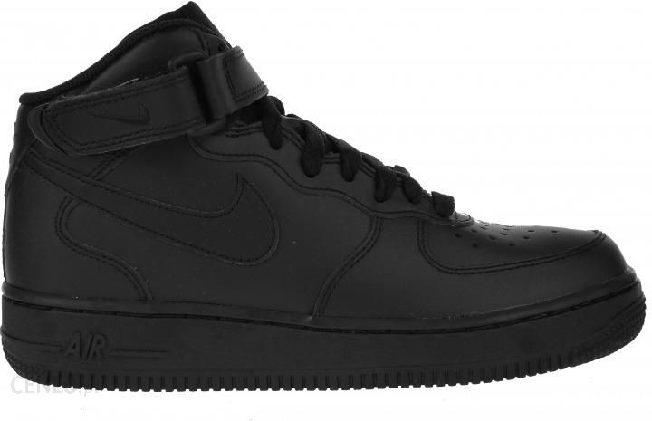 the best attitude 9fdc2 74e11 Buty Nike Air Force 1 MID (gs) Czarne 314195-004 - Ceny i opinie ...