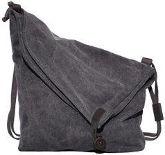 c336f4bfc55e8 Amazon coofit damski męski Canvas płótno plecak torba na ramię Messenger  Bag torba na ramię torba
