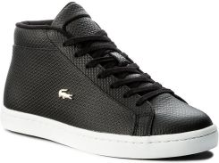 Sneakersy LACOSTE Straightset Chukka 317 1 CAW 7 34CAW0056024 Blk