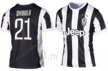 2871769bc Bs Sport Dybala Juventus Koszulka Piłkarska 2017/2018 Wersja Domowa  708340077 - zdjęcie 1