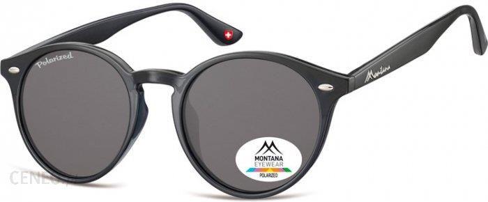 Czarno niebieskie damskie okulary przeciwsloneczne oldskull