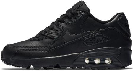 Buty dla małych dzieci Nike Air Max 90 Leather Czerń