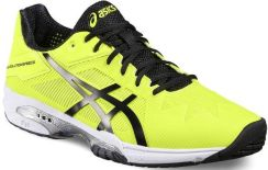 Asics Buty tenisowe Gel-Solution Speed 3 safety yellow black white E600N0790 6f9f68182e21b
