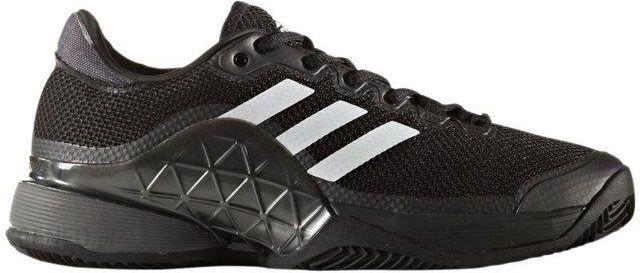 Adidas Buty tenisowe Barricade 2017 Clay core black night metallic white  BY1629 - zdjęcie e87ed7d6437