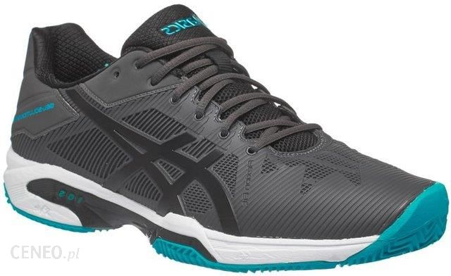 Asics Buty tenisowe Gel Solution Speed 3 Clay dark greyblacklapis E601N9590