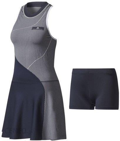 09332cfb8 Adidas Sukienka tenisowa by Stella McCartney Barricade Dress legend  blue/white BQ7013 - zdjęcie 1