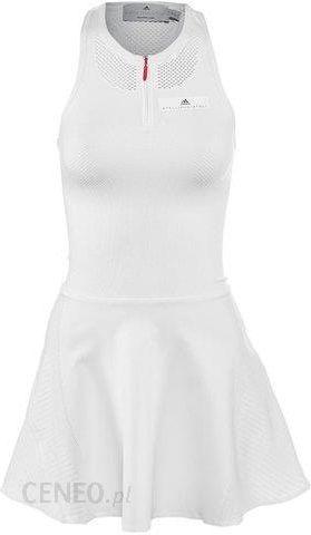 d5bfeeac64676a Adidas Sukienka tenisowa by Stella McCartney Barricade Dress white/grey  BQ8464 - zdjęcie 1