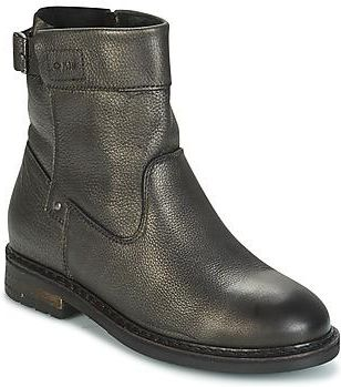 a7f6d470806cf Sztyblety TOMMY HILFIGER - Metallic Leather Che FW0FW03061 Black 990 ...