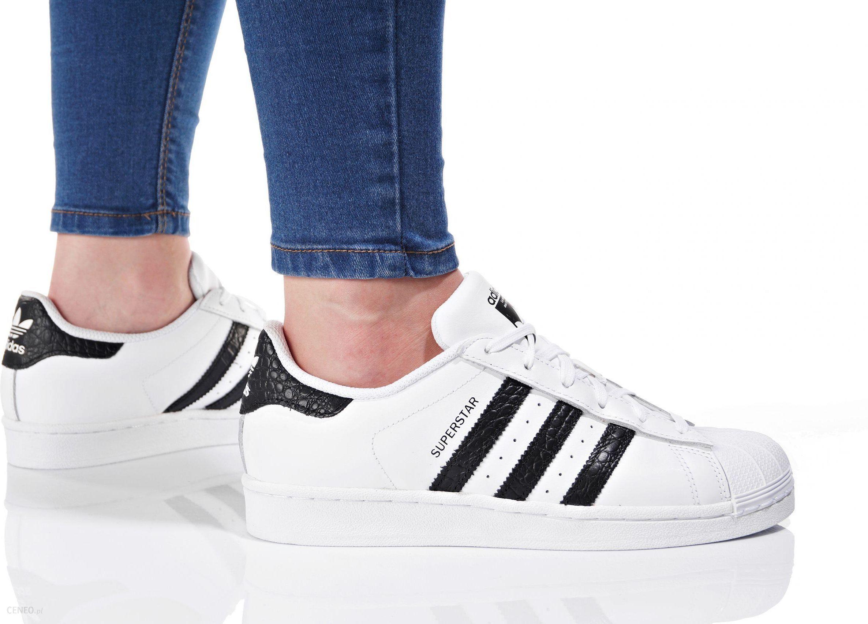 adidas Superstar J M?odzie?owe Bia?e (FU7712)