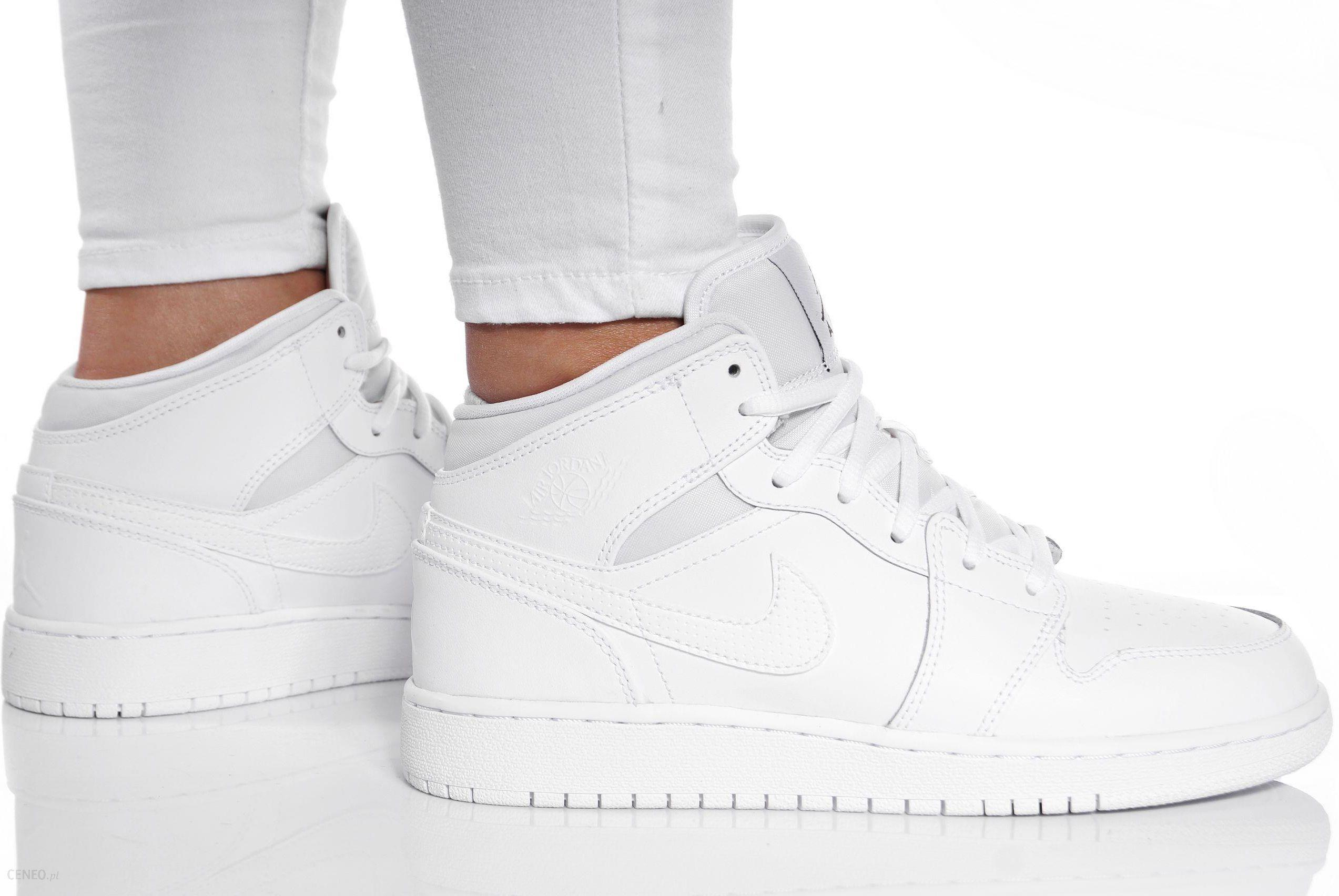 Buty Nike Air Jordan 1 MID Bg Damskie 554725 110