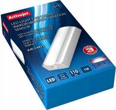 Activejet Oświetlenie Led Do Szafy Szuflady Z Czujnikiem Wibracji Neutralna Barwa światła