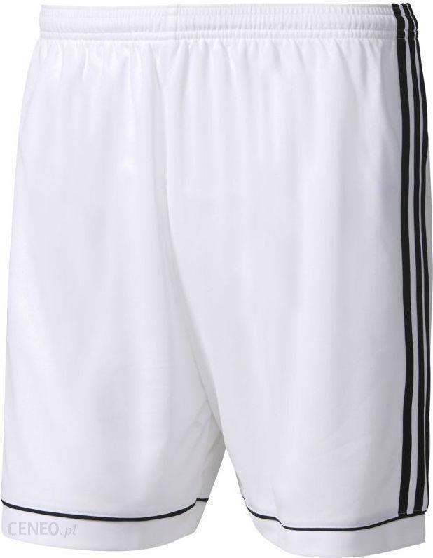Adidas Spodenki piłkarskie męskie Squadra 17 z podszewką biało czarne r. L (BK4770)