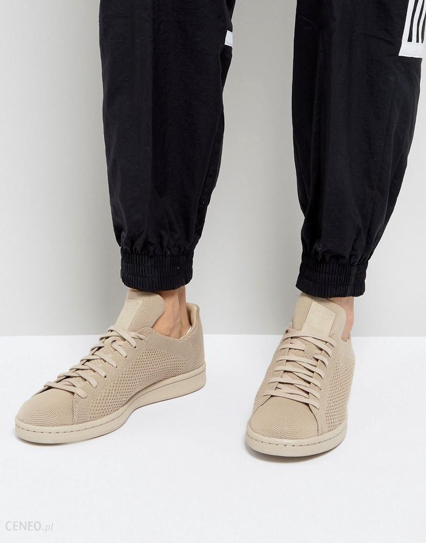 adidas Originals Męskie Stan Smith Primeknit Buty Sportowe Khaki