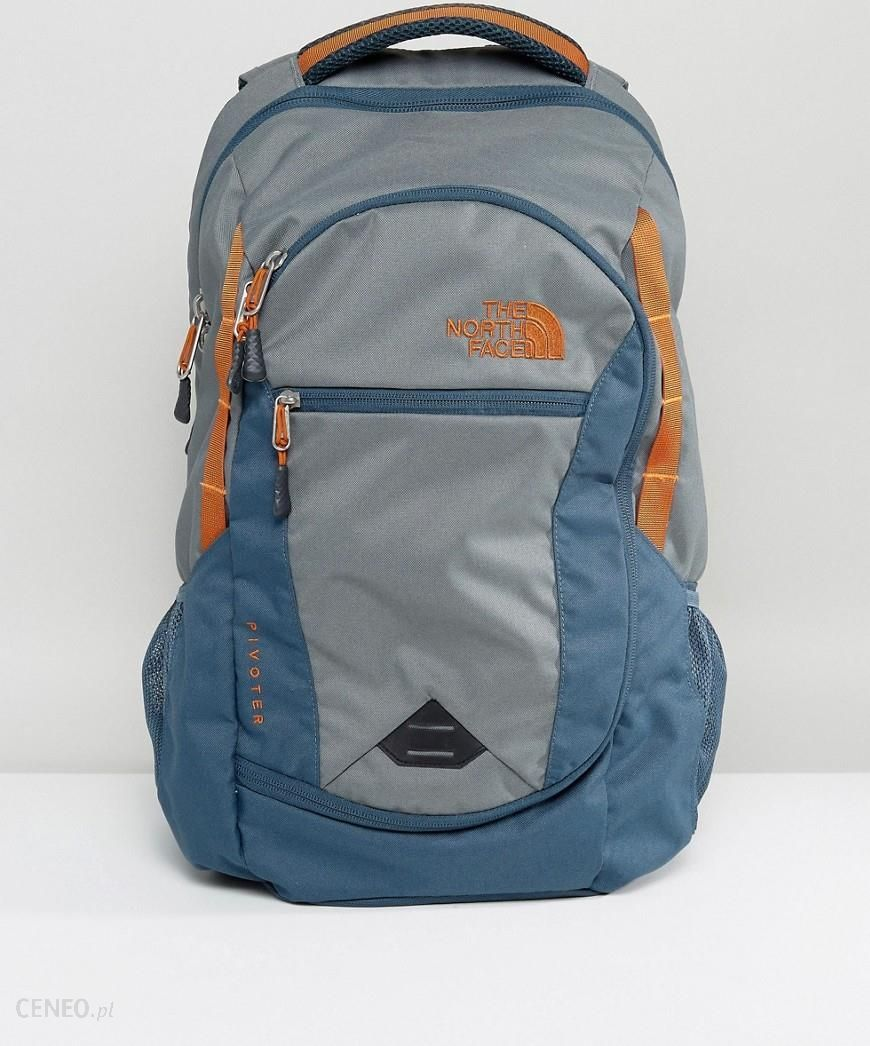 bddffb282 The North Face Pivoter Backpack 27 Litres in Grey/Green/Blue - Multi -  Ceneo.pl
