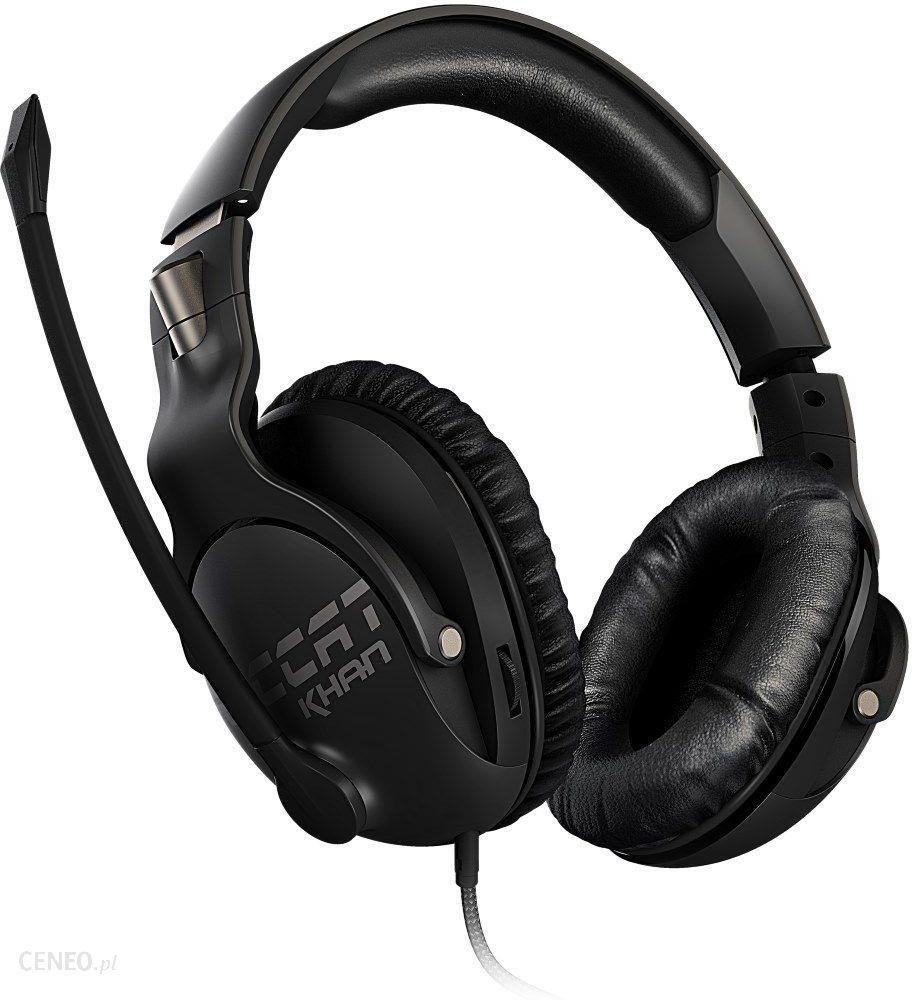 3f6cc85f0a8 Roccat Khan Pro Czarne (ROC14622) - Opinie i ceny na Ceneo.pl