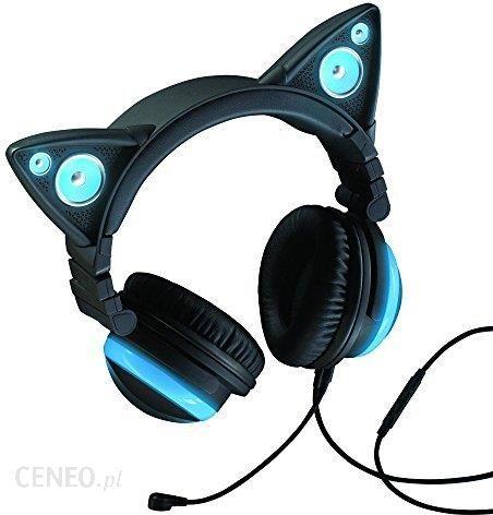 Amazon axent noszenia – kot douszne słuchawki z głośnik niebieski Ceneo.pl