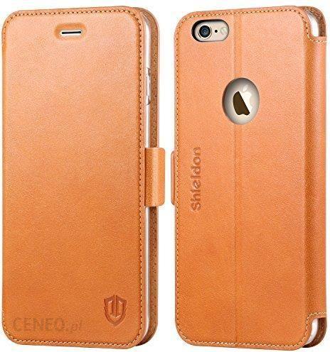 Amazon shie ldon prawdziwej skórzana torba na telefon komórkowy iPhone 6  PLU iPhone 6s Plus, brązowy