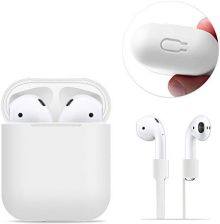 Amazon airpods Case protective, frtma Silicone Skin Case with Sport Strap for Apple airpods