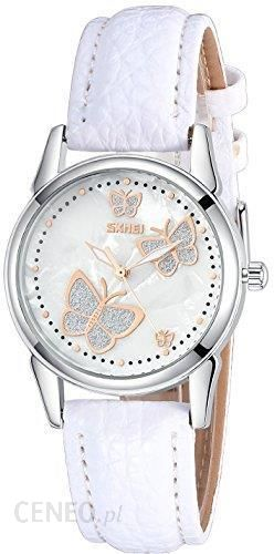 9b9fc94614f0 Amazon inwet damski kwarcowy zegarek na rękę z masy perłowej cyferblat  analogowych można oglądać i motyl