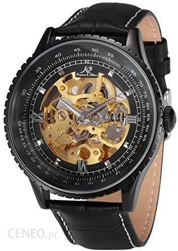 Niewiarygodnie Amazon KS zegarek automatyczny XXL w dużym zegarek męski zegarek LQ87