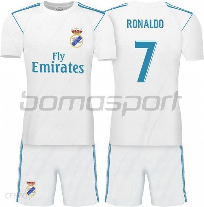 452dc7aff Replika Strój Piłkarski Dziecięcy Real Madryt Home 16/18 Ronaldo 7  Rm130917K - zdjęcie 1