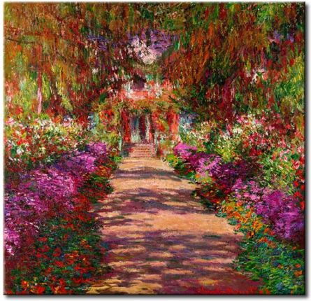 A Pathway in Monet's Garden, Giverny