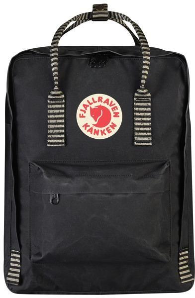 sportowa odzież sportowa butik wyprzedażowy strona internetowa ze zniżką Fjallraven Kanken Black Striped