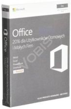 Microsoft Office Mac 2016 Home & Business PL (W6F00851)