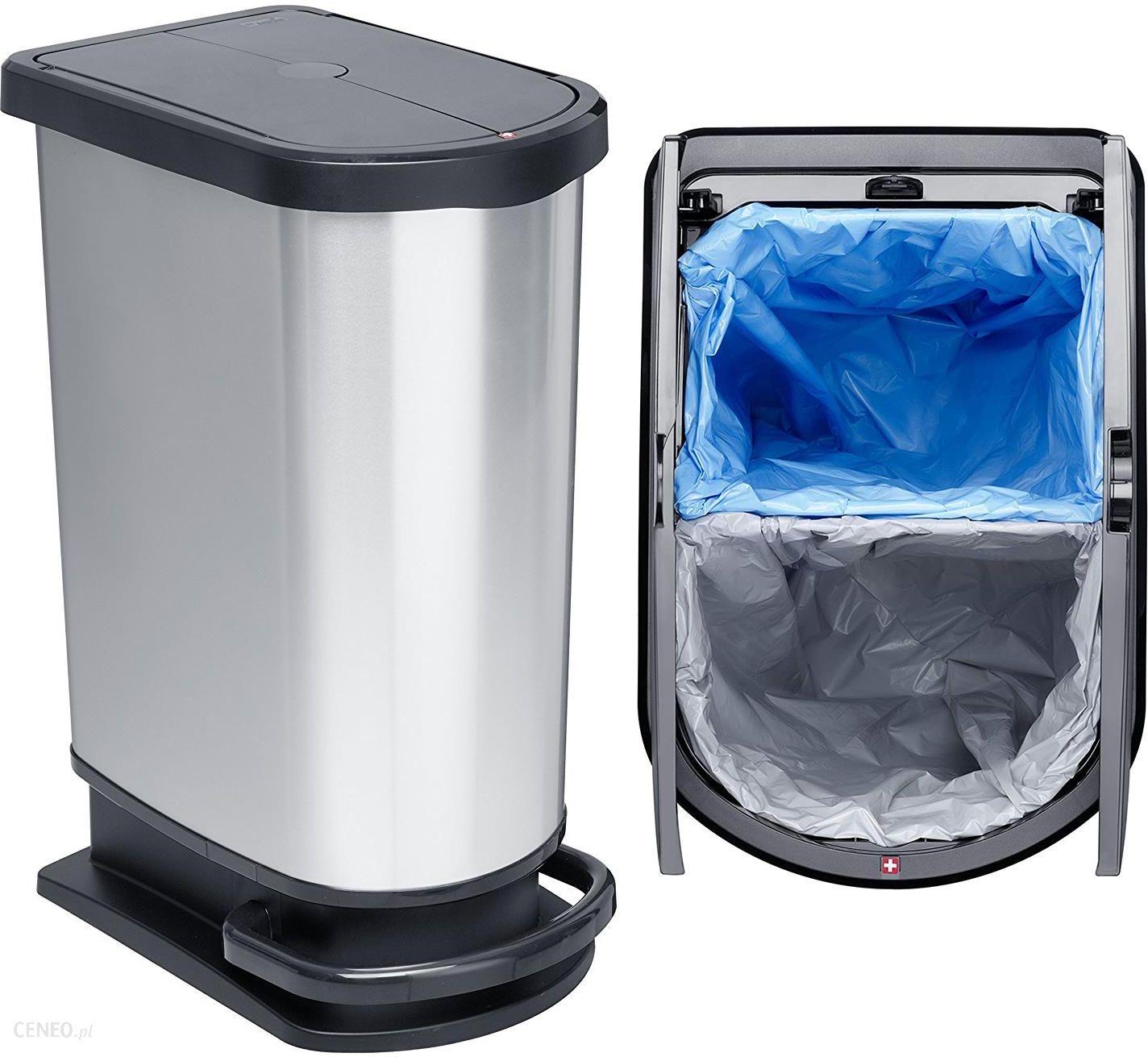 Duży Kosz Na śmieci Z Pedałem Segregacja 50l 01281