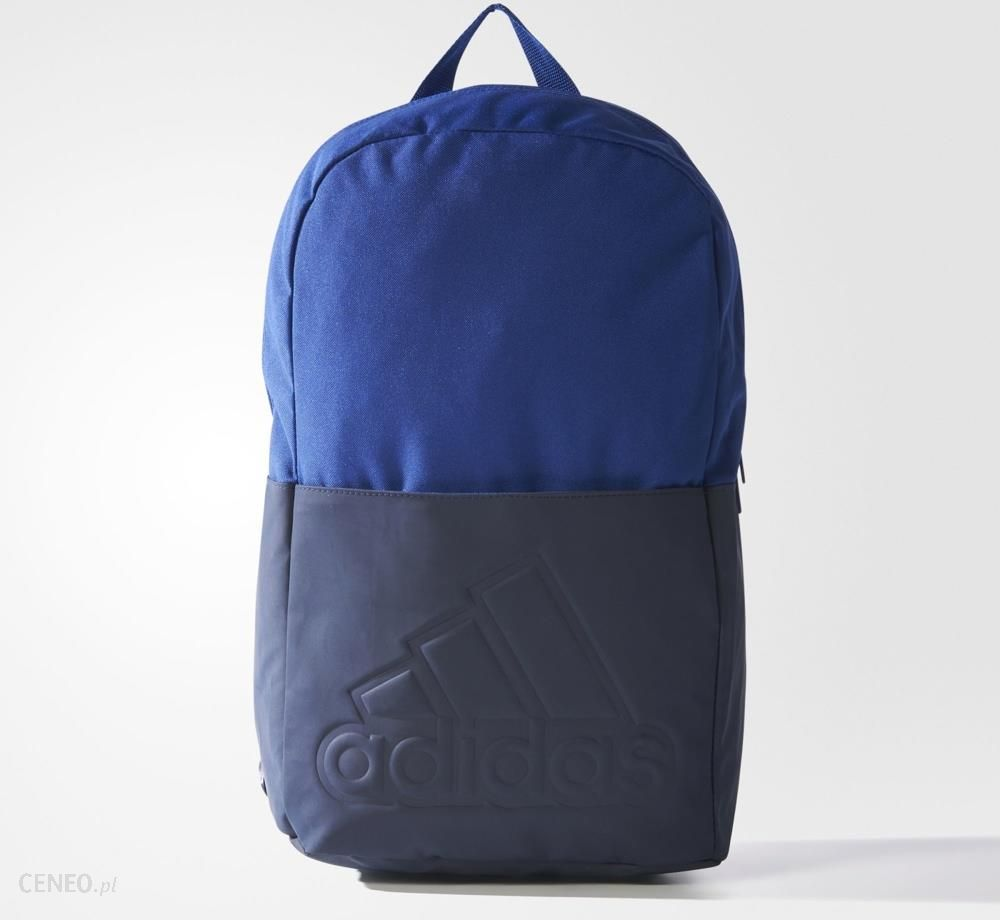 Plecak Adidas Plecak Classic M Bos Br1559 Granatowo Czarny, Czarne Logo Ceny i opinie Ceneo.pl