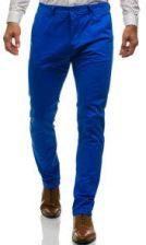 1cca11b45787a Spodnie chinosy męskie niebieskie Denley 6807 - Ceny i opinie - Ceneo.pl
