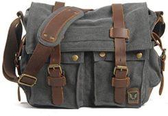 9afc737ddffd4 Amazon Mężczyźni Kobiety Canvas torba na ramię torba męska na torba na ramię  plecak do szkoły zawieszka