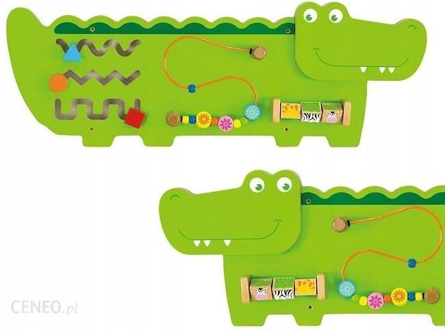 Viga Sensoryczna Tablica Manipulacyjna Krokodyl (50469) - zdjęcie 1
