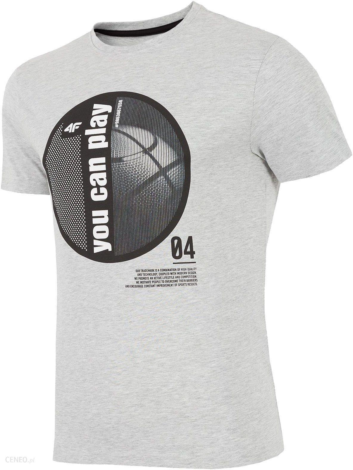 Koszulka Męska Reebok CrossFit Classic Tee Szary Melanż