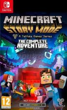 Gra Nintendo Switch Minecraft Story Mode The Complete Adventure (NS) - zdjęcie 1