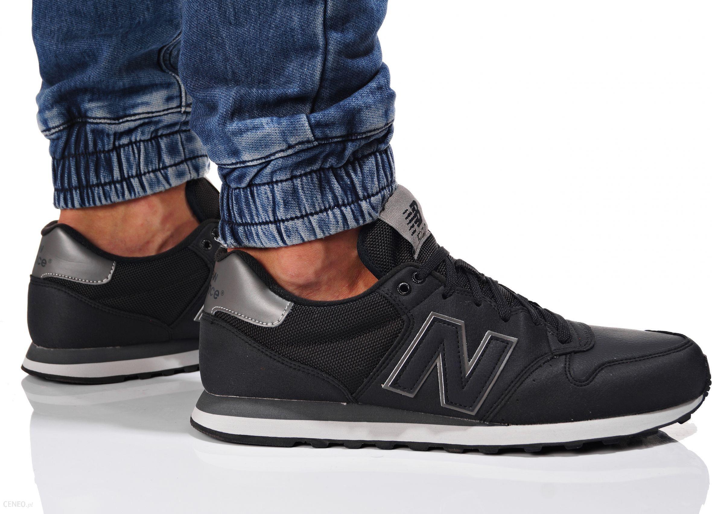 new balance 500 na nodze