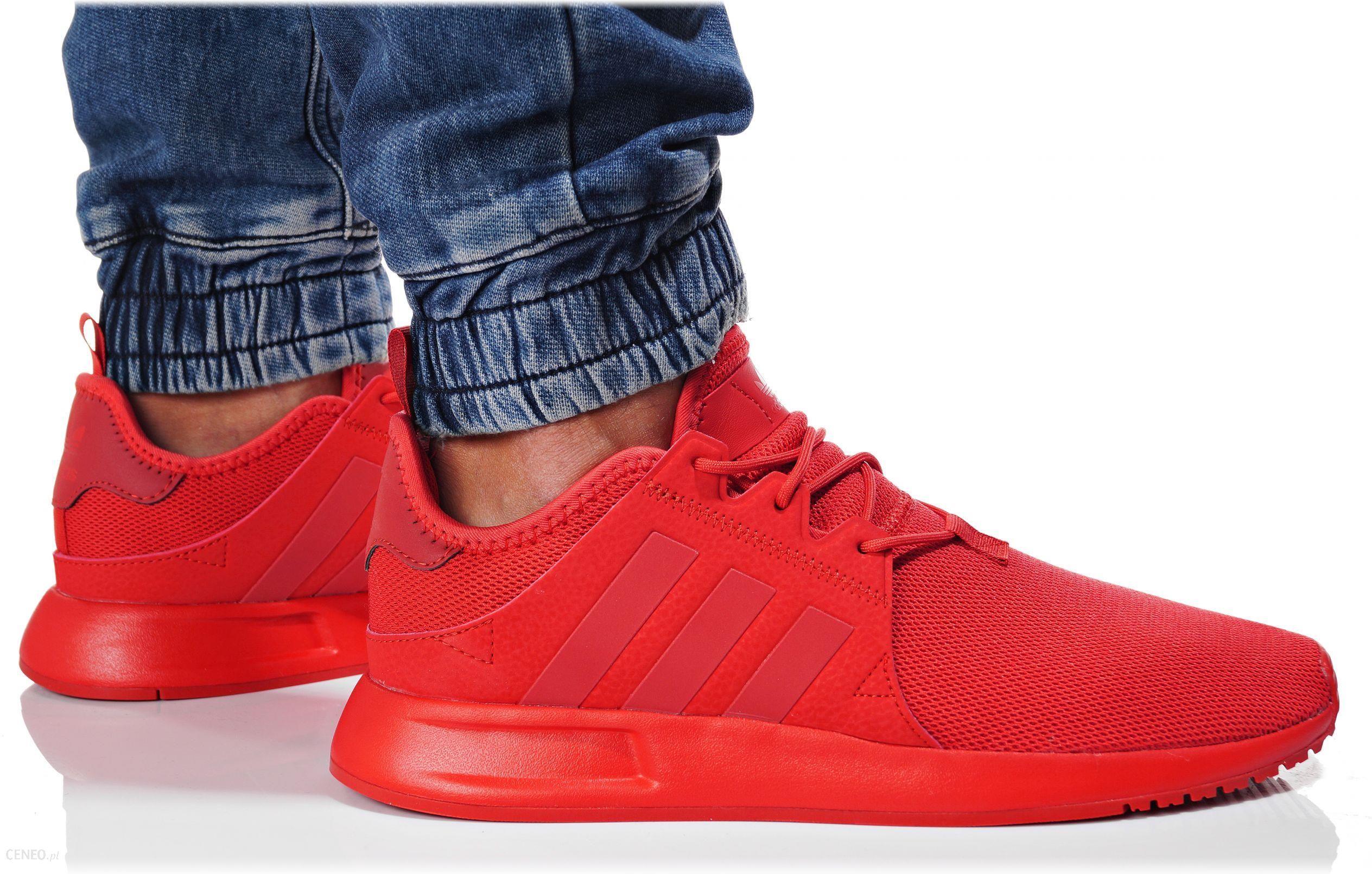 buty adidas x_plr czerwone