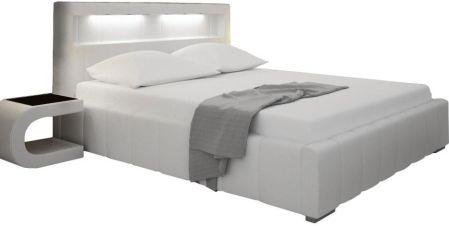 Białe łóżka Z Pojemnikiem Na Pościel Ceneopl