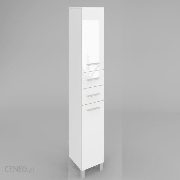 Labi Słupek łazienkowy Sw13 40cm Biały Połysk