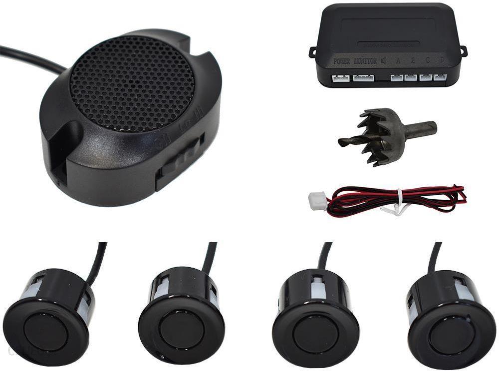 Czujniki Cofania 4 Sensory sygnalizator dźwiękowy