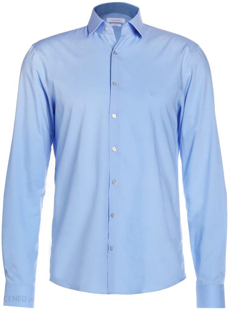 Calvin Klein BARI SLIM FIT Koszula biznesowa light blue