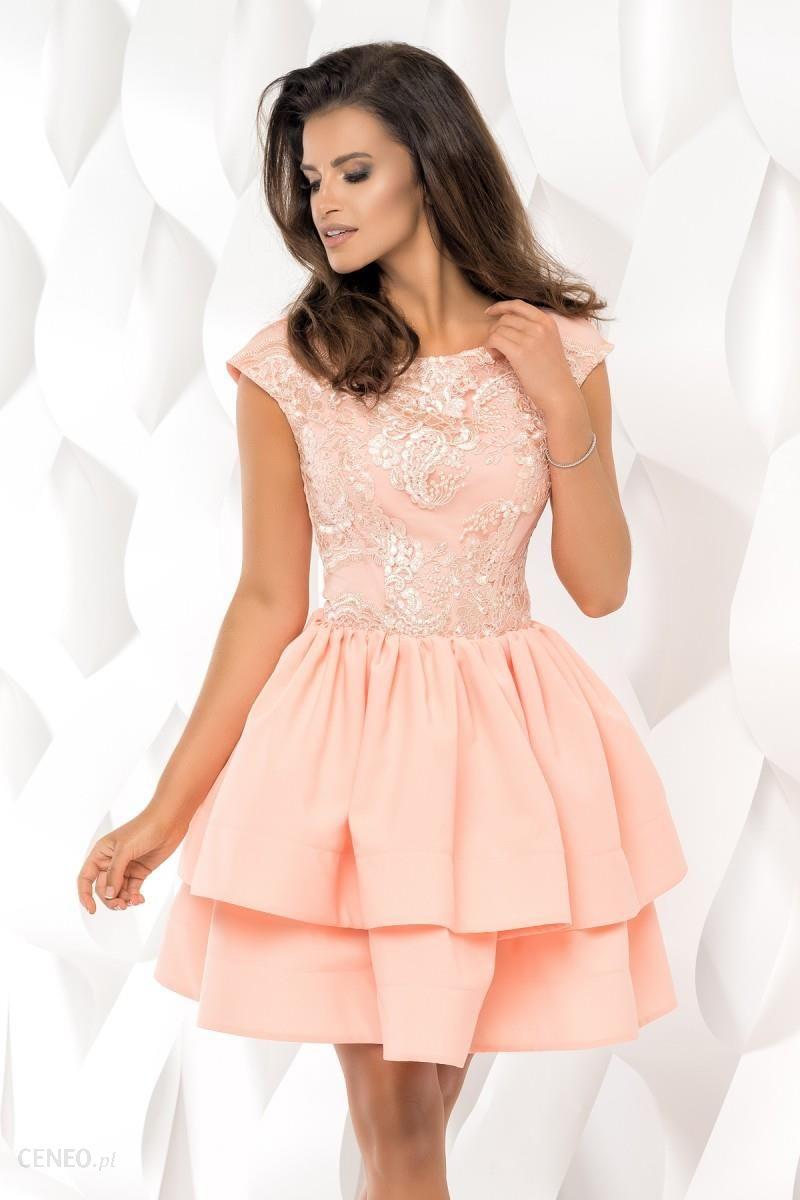 13f9a0b441 Damska sukienka plisowana na wesele rozkloszowana M 38 - Ceny i ...
