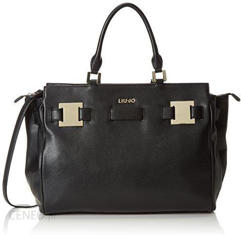 official photos 893ef 7656a Amazon Liu Jo damska shopping bag Vulcano torby na ramię, 36 x 29 x 16 cm -  czarny -
