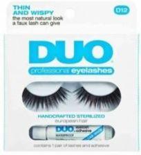 dc75ccadf1c Ardell Duo Professional Eyelashes 1 Parasztucznych Rzes D12 + Lash Adhesive  Klej Do Rzes 2 5g
