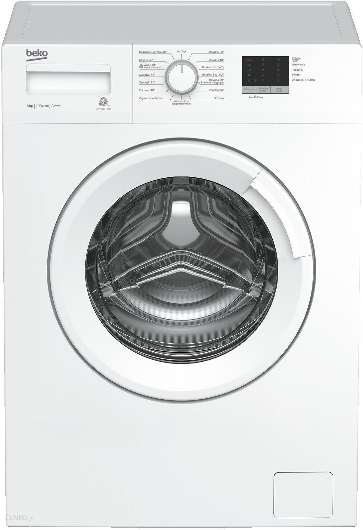 najtańsza pralka automatyczna beko