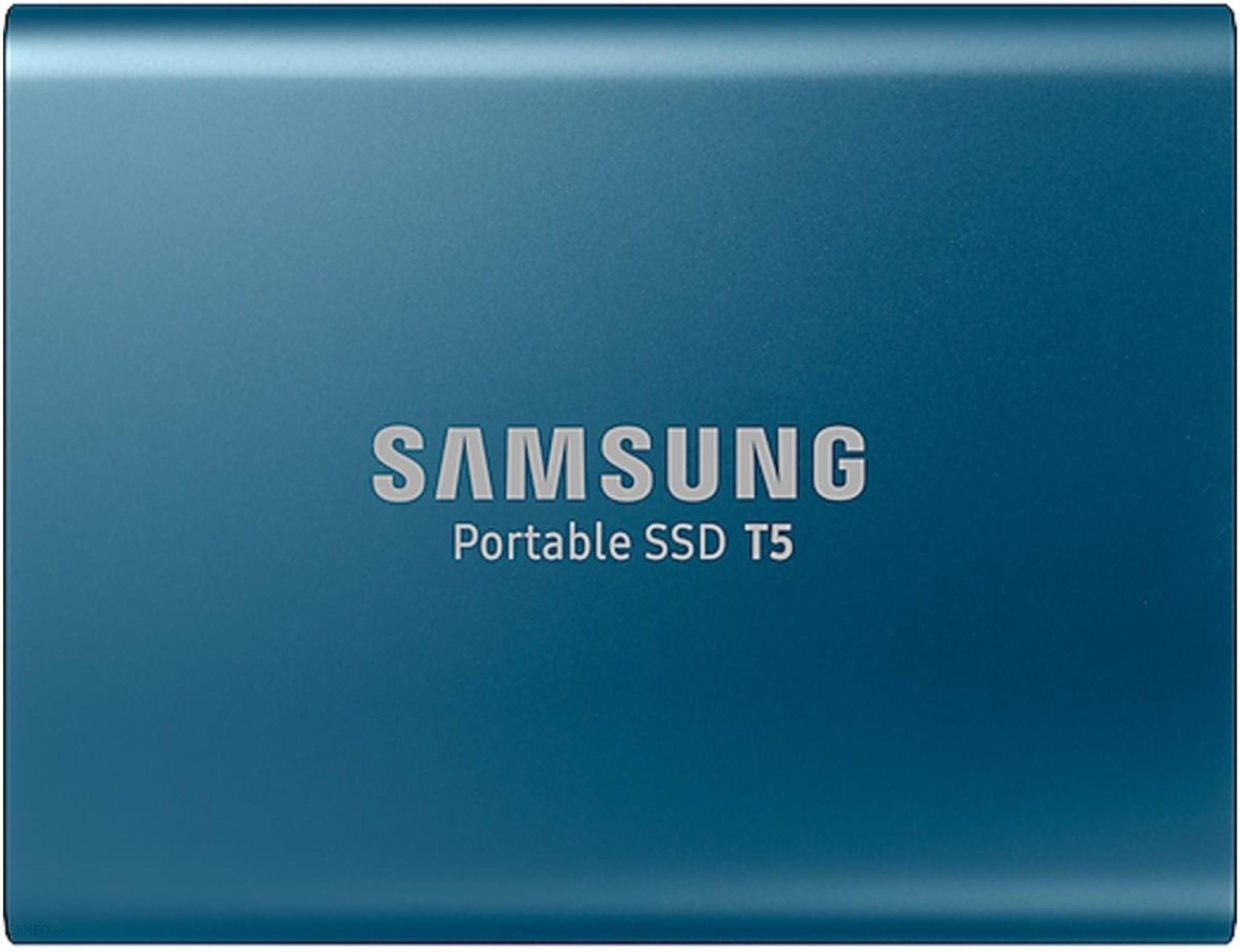 Samsung T5 500GB Niebieski (MU-PA500B/EU)