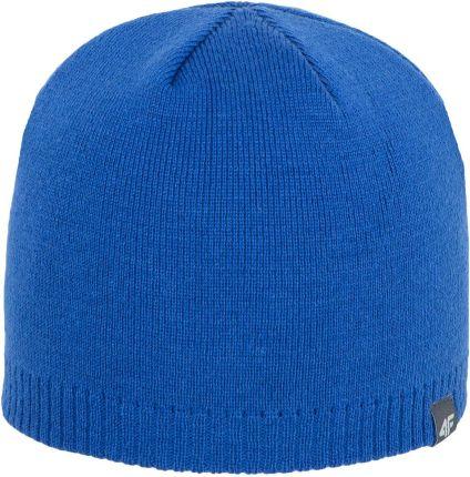 3749f5e3013774 Męska czapka zimowa 4F Z17 CAM001 kobaltowa - Ceny i opinie - Ceneo.pl