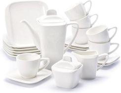 Ambition Serwis Kawowy Porcelanowy Ambiton Tokyo Biały Na 6 Osób 23