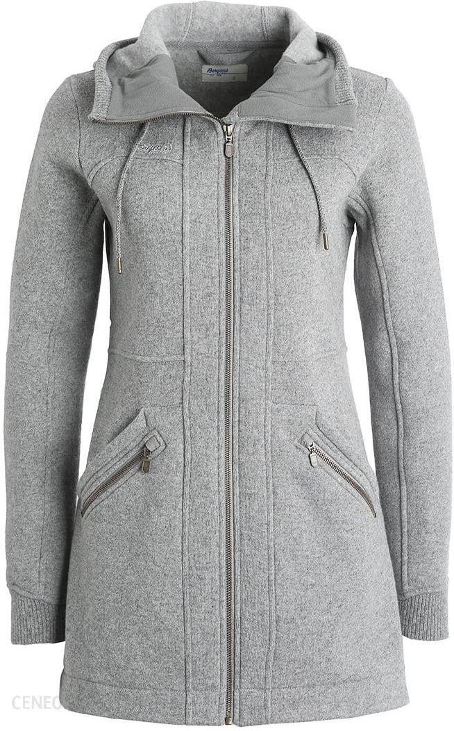 9c68e20bfc45b Bergans MYRULL Płaszcz wełniany  Płaszcz klasyczny grey melange - zdjęcie 1
