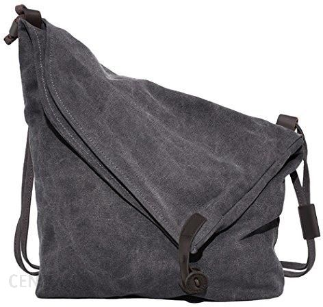 d01632c926b8b Amazon Torebki na ramię Canvas unisex futerał na styl retro literackim  uczelni torba na ramię Messenger